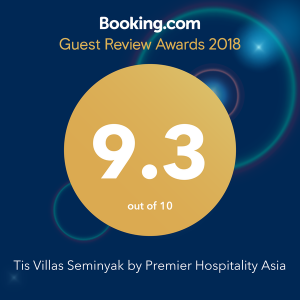 tis villa seminyak booking.com awards